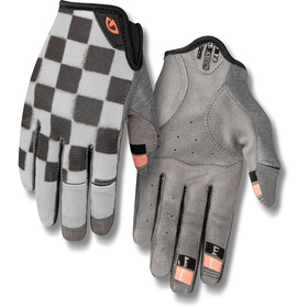 Giro LA DND Gants Femme, checkered/peach